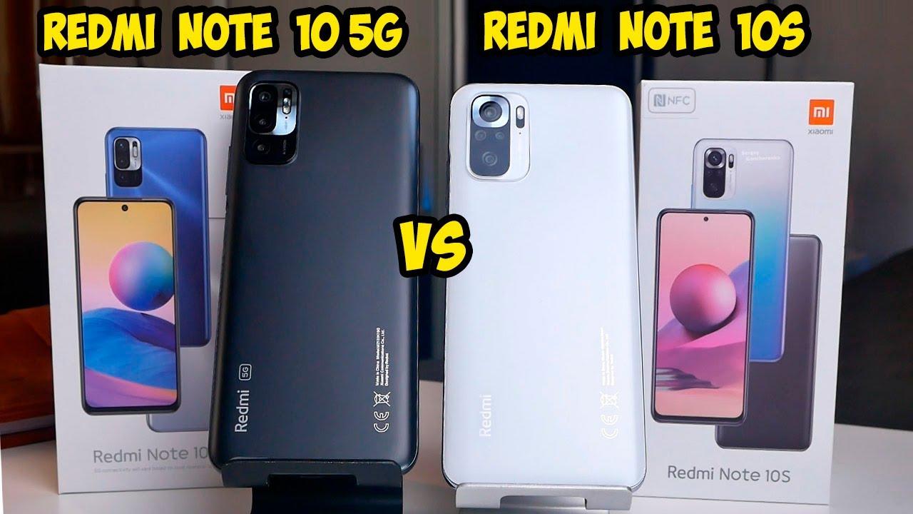 Xiaomi Redmi Note 10S VS Redmi Note 10 5G
