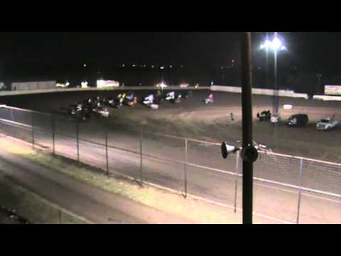 Mini Sprint Wreck @ Cowtown Speedway 6.30.012 A Class A main