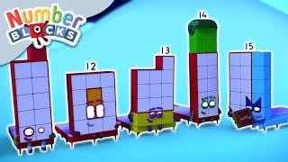Numberblocks - Tween Scenes   Learn to Count