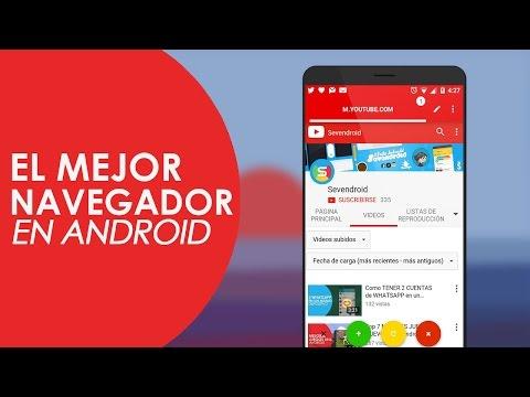 El navegador mas rapido para Android y mas ligero (Grat...   Doovi