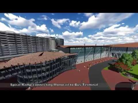 Thesis Walkthrough- Mobility Hub for Calicut City