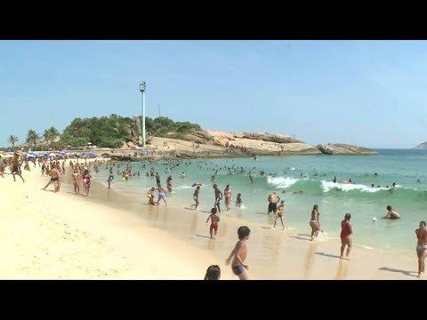 Heatwave envelopes southeastern Brazil