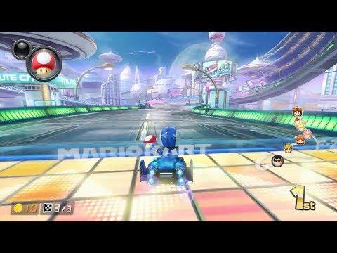 Mario Kart 8 Deluxe: Mute City [1080 HD]