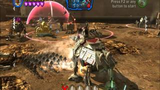 Lego Star Wars III: Gameplay: Battle of Geonosis