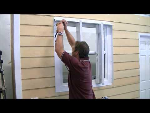 Accordion Hurricane Shutter Installation Video.wmv
