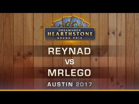 HS - Reynad vs. Mrlego - Semi-Finals - Hearthstone Grand Prix DreamHack Austin 2017