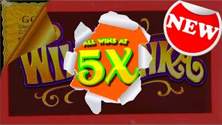 🍬🍭🍫NEW! 🍬🍭🍫I Was SHOCKED When THIS HAPPENED! WONKAVATOR Willy Wonka Slot Machine W/ SDGuy1234