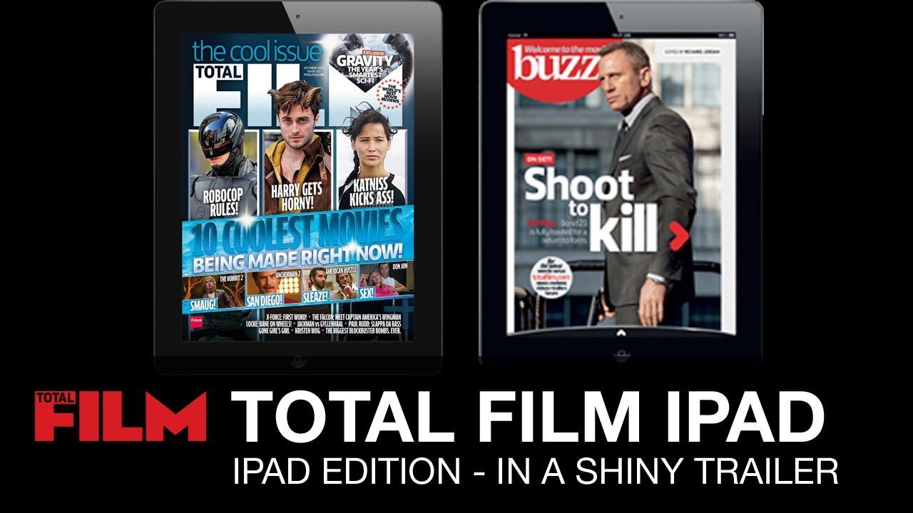 Total Film Magazine Interactive Ipad Edition Trailer Youtube