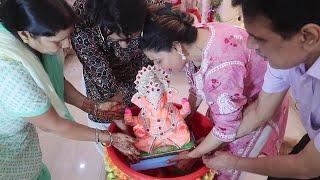 Final GOOD BYE to BAPPA   Day 5   Ganpati VISARJAN 2020   Ss Vlogs :-)