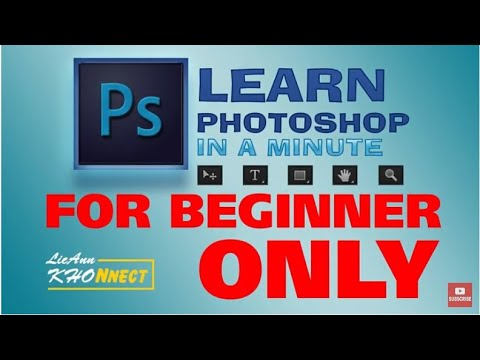 Adobe Photoshop Tutorial : The Basics for Beginners (TAGALOG VERSION) thumbnail