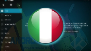 KODI 17: come abilitare lingua Italiana e TV
