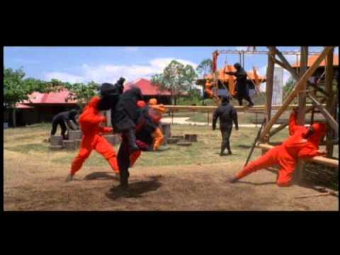 American Ninja: Ninja army training