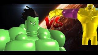 Thanos Vs Hulk | Roblox Animation