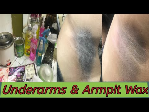 Underarms & Armpits wax/How we clean Dark Underarms/ wax कैसे करें Seema jaitly thumbnail