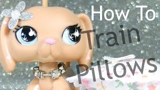 LPS- How To Train Pillows! (With Jenna)