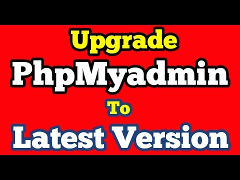 Upgrade PhpMyAdmin in Xampp to latest version 4.5.3.1 on windows 10
