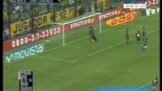 Boca Juniors 0 San Lorenzo 3 Clausura 2007 Los goles