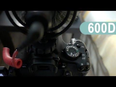 Как настроить canon 600d