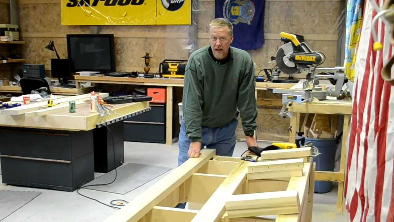 how to build a pool table part 5 efforts in frugality episode 30 youtube - How To Make A Pool Table