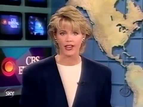 1994  CBS Evening News Sunday covers South Africa Election