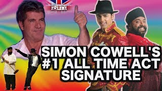 BRITAIN'S GOT TALENT – SIMON COWELL's ALL TIME NUMBER ONE ACT  - SIGNATURE