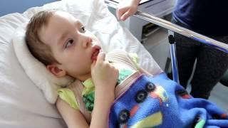 Pawełek po operacji kręgosłupa jest wyższy o 15 centymetrów