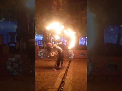 Saturday Night Market Egypt Song Fire Dance