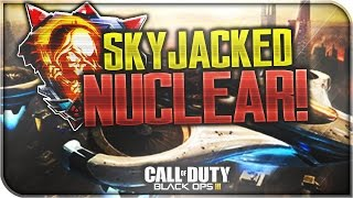 "BO3: ""SKYJACKED"" NUCLEAR! Hijacked Remake DLC Map (COD Black Ops 3 Awakening Multiplayer Gameplay)"