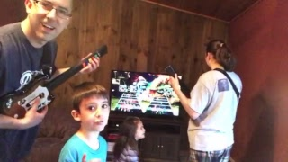 Family Review Show Guitar Hero Live From Nana's House