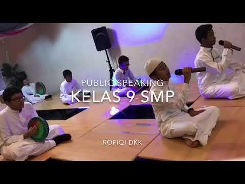 Public Speaking ~ ENGLISH CLUB ~ INDONESIAN SCHOOL OF MECCA