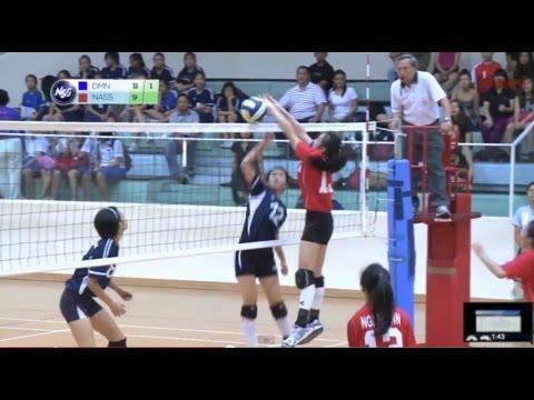 NSG2017 Ep 11: Volleyball A Divisions // Nanyang Junior