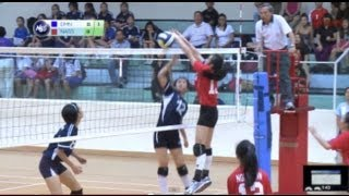 Dunman Sec Girls wrestles volleyball title away from Ngee Ann Sec School