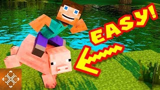 10 Minecraft Challenges Even A NOOB Can Master