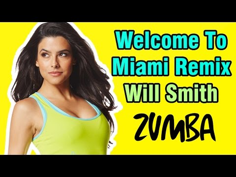 Zumba Videos – Welcome to Miami Will Smith Remix WarmUP – Zumba Choreography