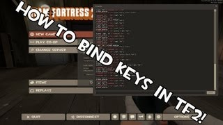 Bind Keys Quickly in TF2