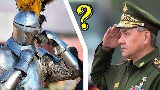 ✅ Откуда пошло воинское приветствие в виде прикладывания руки к голове (Сергей Тармашев)
