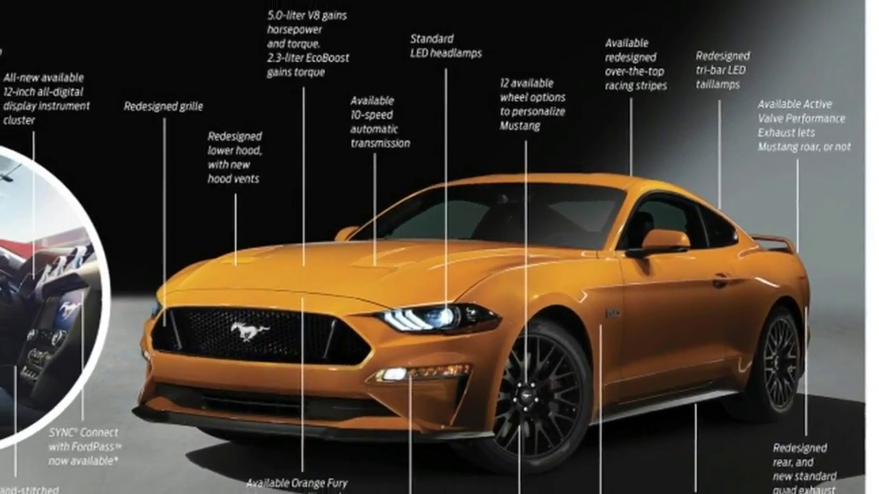2018 Ford Mustang Specs Gt Horse 0 60