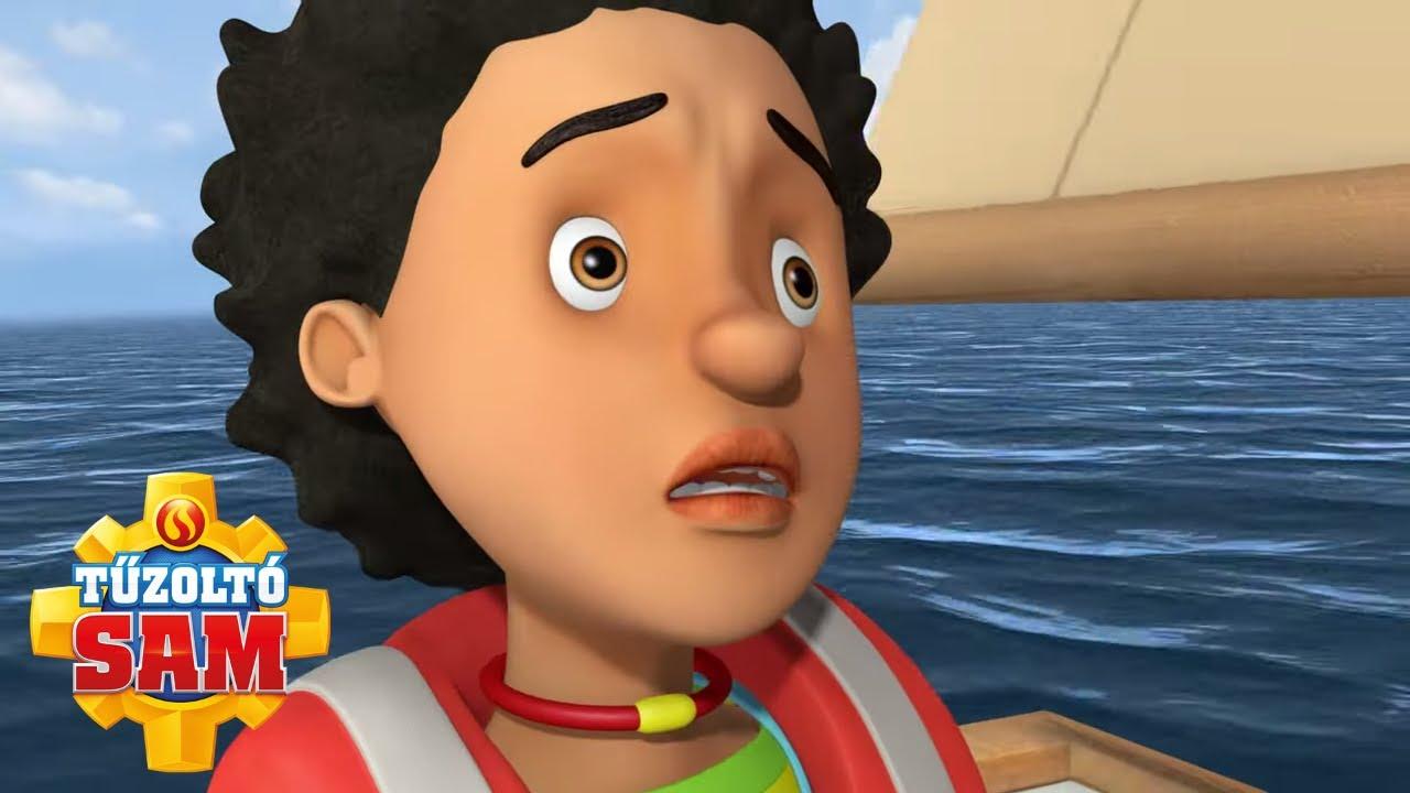 Mandy elveszett a tengeren! | Tűzoltó Sam Hivatalos | Rajzfilmek gyerekeknek