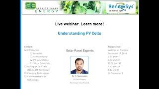 Understanding PV Cells