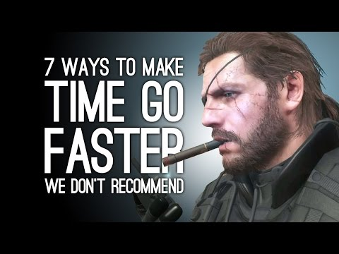 7 Ways to Make Time to Go Faster We Don't Recommend in Real Life