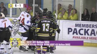 Manchester Storm vs Edinburgh Capitals Match Highlights 06092015