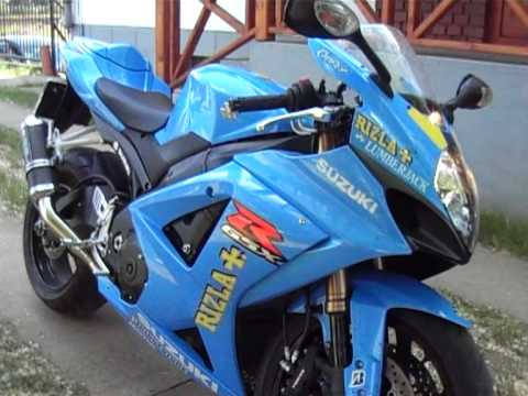 suzuki gsx r 1000 k8 rizla limited edition exhaust sound. Black Bedroom Furniture Sets. Home Design Ideas