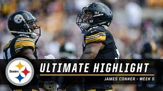 James Conner runs wild vs. Falcons | Steelers Ultimate Highlight