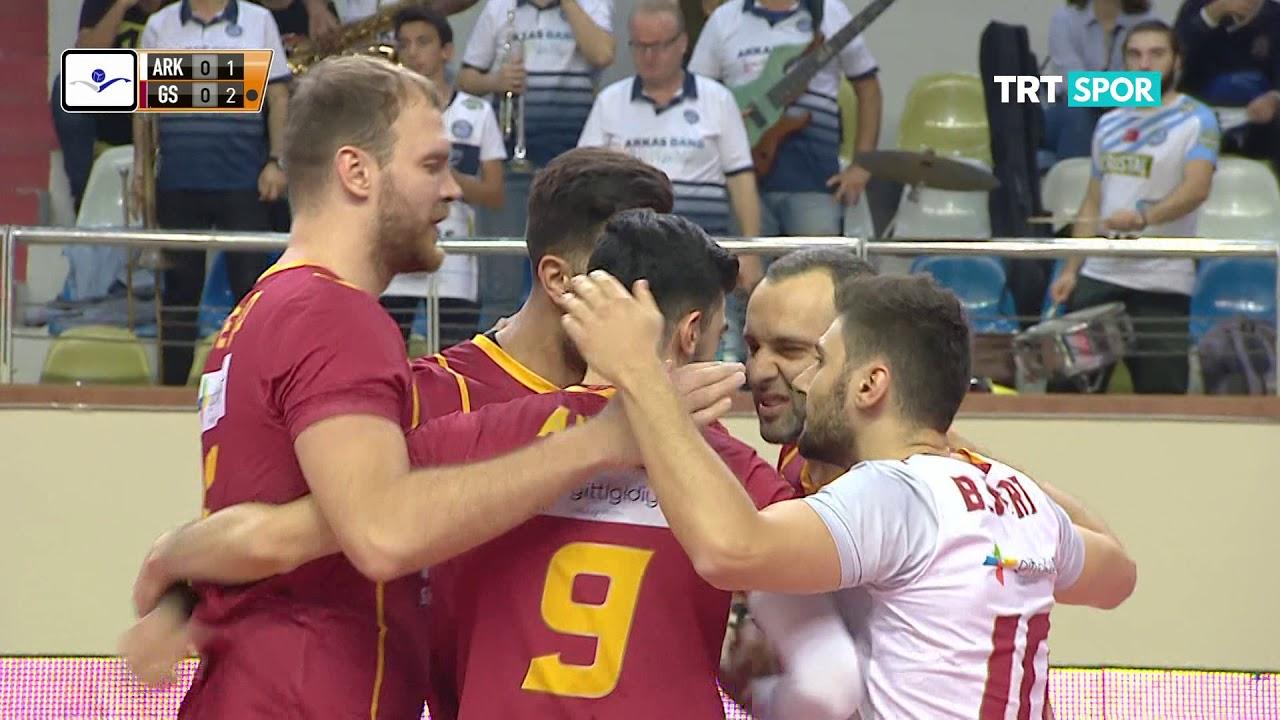 2019-2020 ASE 5.hafta Arkas Spor-Galatasaray HDI Sigorta