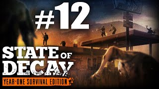 State of Decay Year One Survival Edition Part 12 Escort the Survivors - Juggernaut Hunt