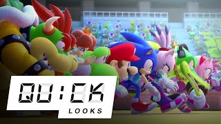 Mario & Sonic at the Tokyo 2020 Olympic Games: Quick Look (Video Game Video Review)