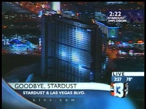 March 13 2007 KTNV Coverage Stardust Implosion