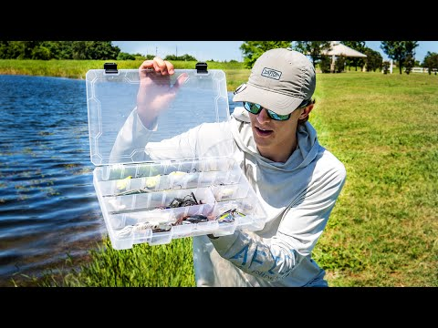 The ONLY Fishing Lures You NEED For Pond Bass Fishing (Pond Fishing ESSENTIALS)
