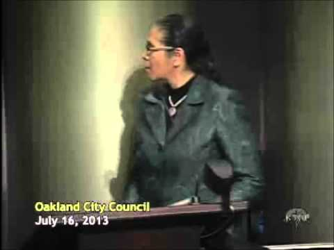 Oakland City Council Meeting on the Domain Awareness Center (DAC), July 16, 2013