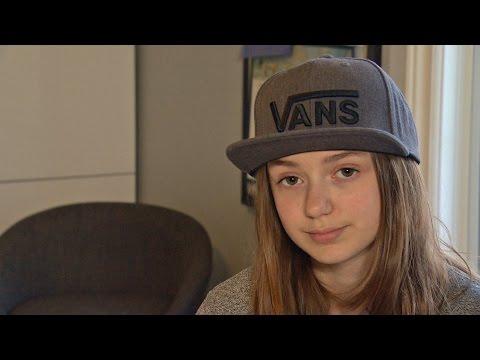 Student defends her demonstration school